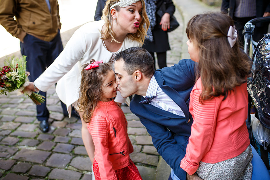 beso a los primos reportaje de boda en hondarribia