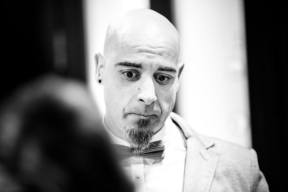 lagrimas hermano reportaje de boda en hondarribia