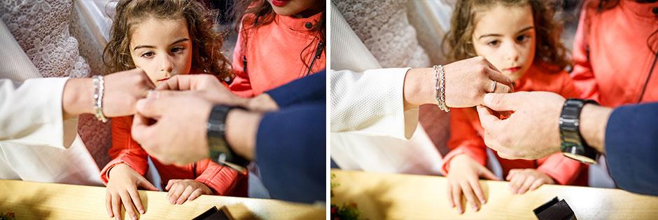 cambio de anillos reportaje de boda en hondarribia