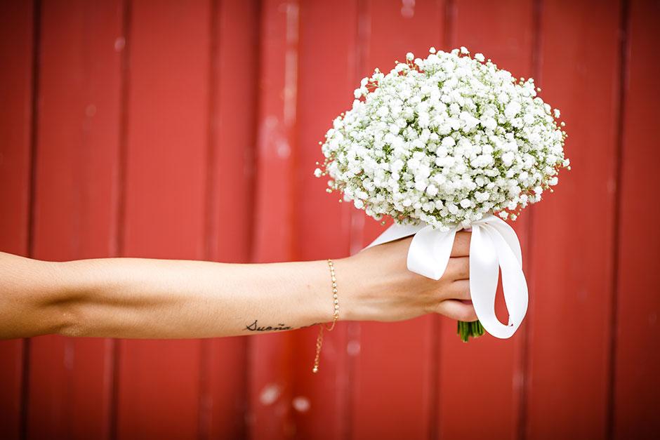 ramo de paniculatas fotografo de bodas guipuzcoa