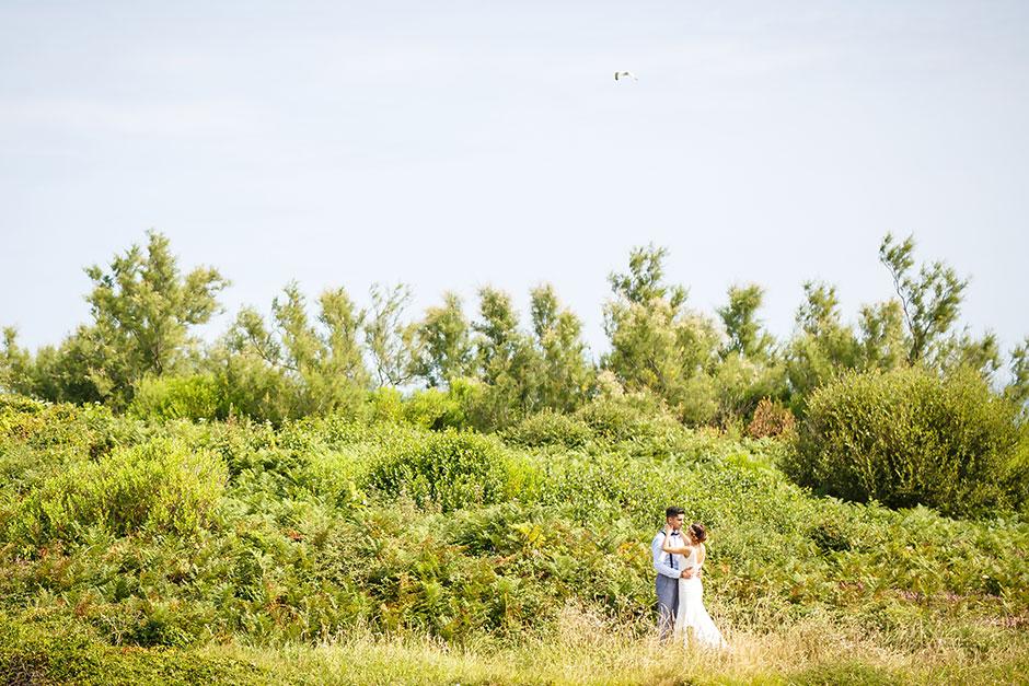 reportaje de pareja en hendaya fotografo de bodas guipuzcoa