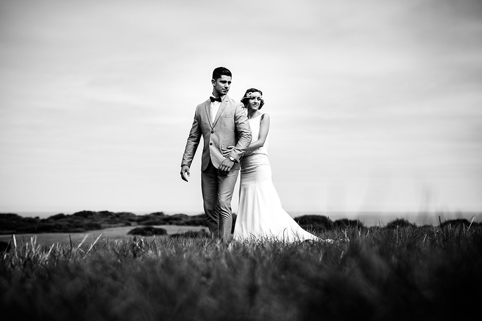 retrato de pareja en un reportaje de boda en irun