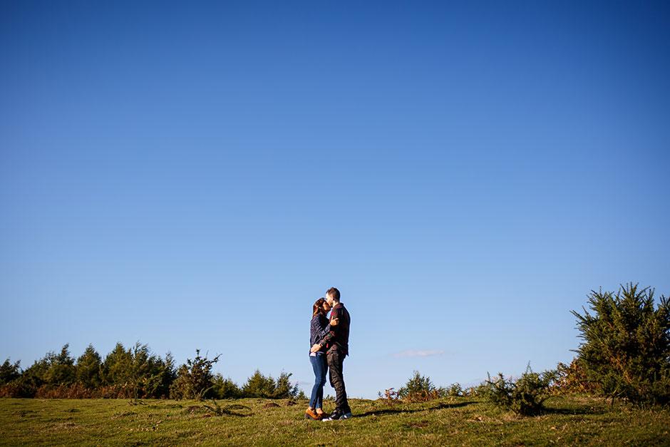 reportaje de pareja en peñas de aia