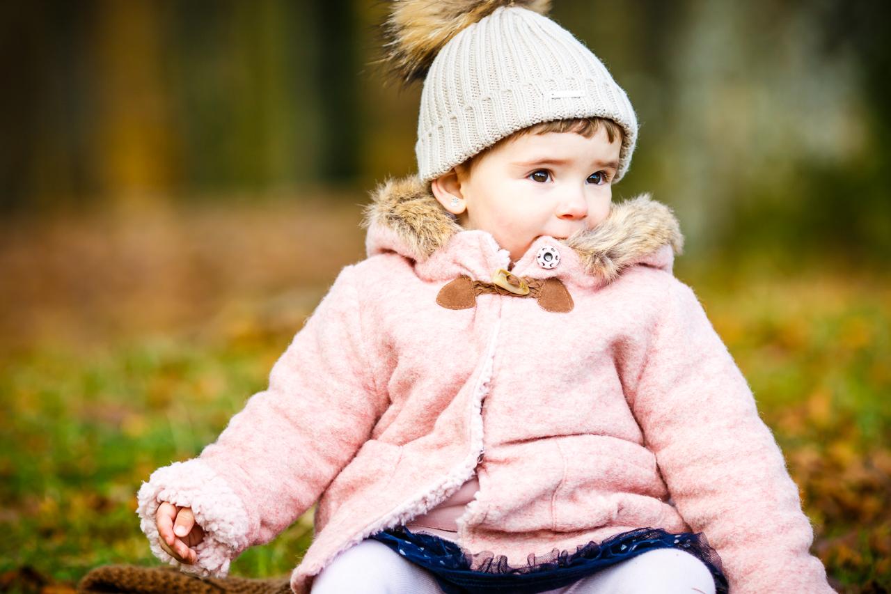 retrato de una niña en el monte fotografos en gipuzkoa