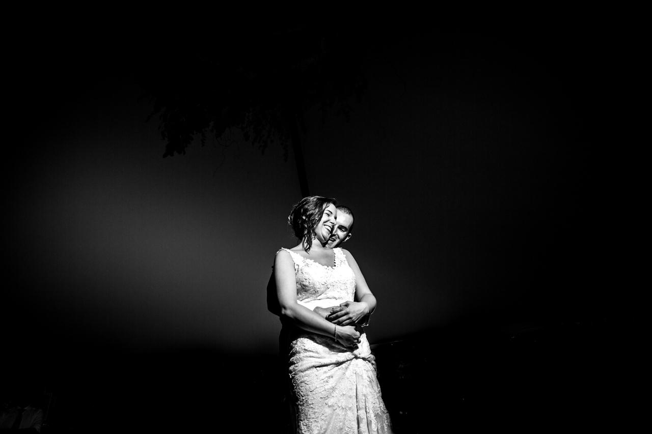 foto de el baile nupcial en una boda en guadalupe