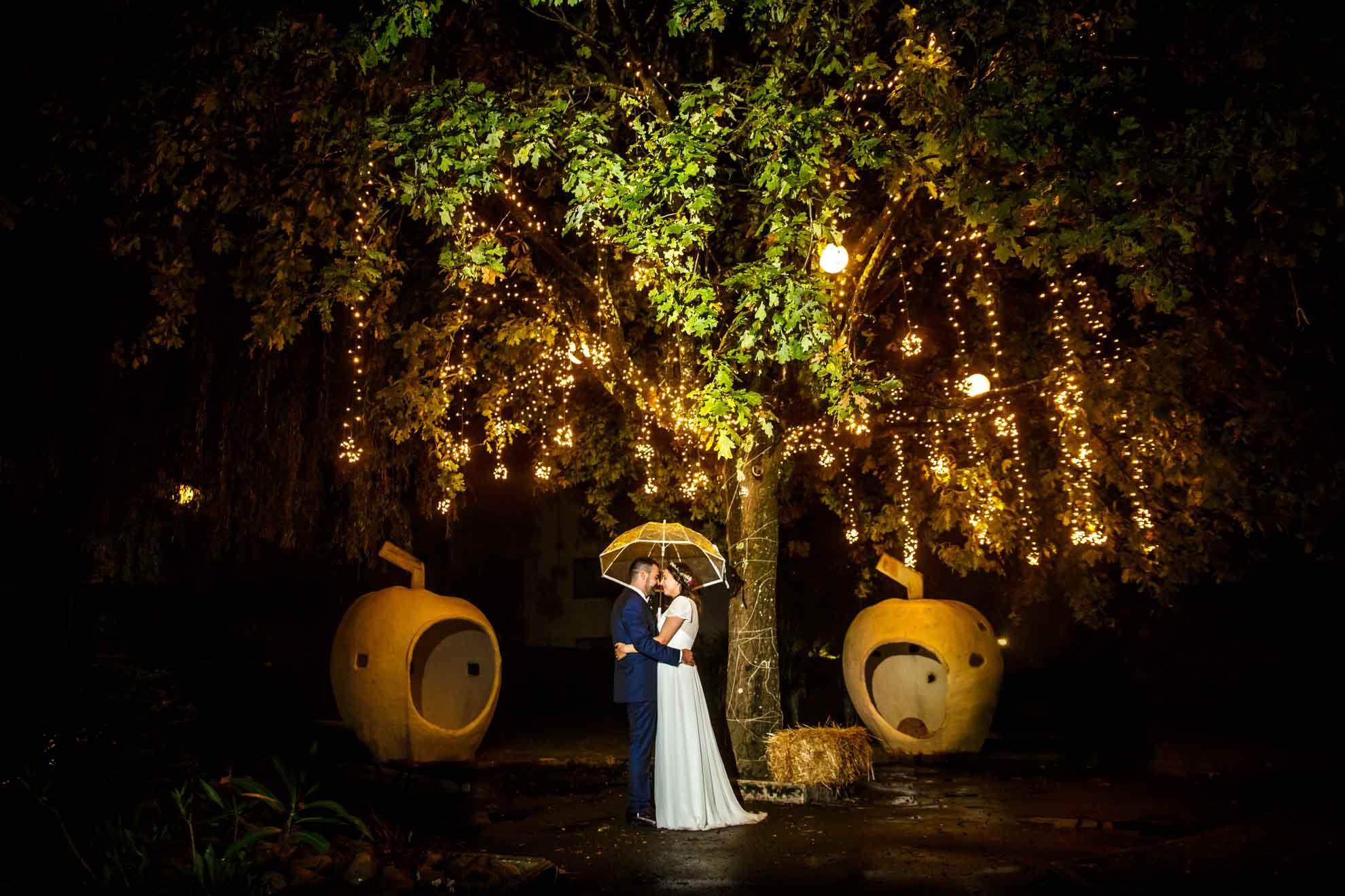 Reportaje de boda en el Restaurante Araeta | Lucia&Aitor